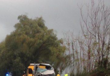 A18, incidente autonomo nel tratto Giarre-Fiumefreddo di Sicilia