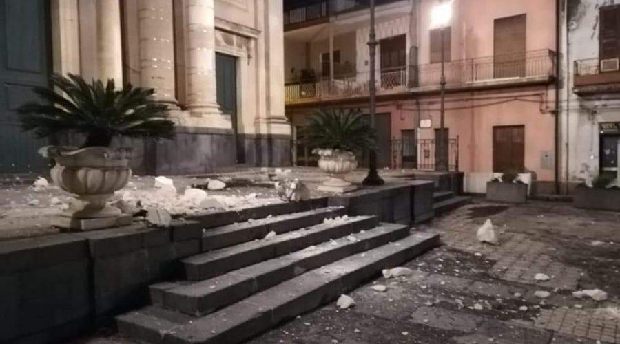 Sisma di Santo Stefano: a Santa Venerina effettuati già 734 sopralluoghi di edifici privati