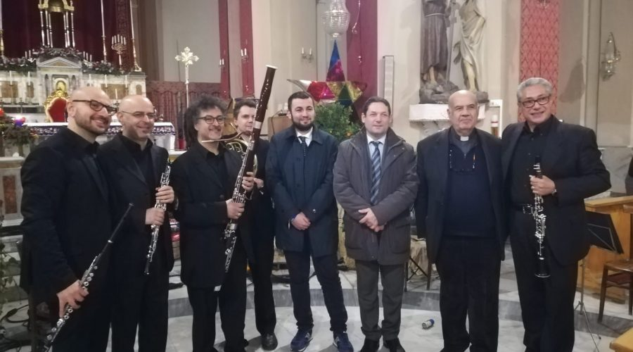 """A Mascali raffinato concerto del quintetto di fiati """"Ibert"""""""