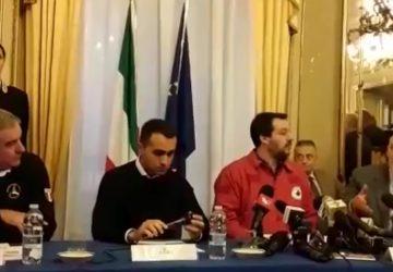Terremoto, vertice in prefettura con Di Maio e Salvini.