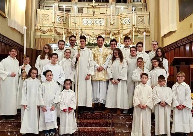 """Giarre, """"ministranti sull'altare e nella vita di tutti i giorni"""""""