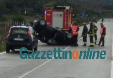 Grave incidente autonomo sulla Statale 284 Bronte-Randazzo: intervento dell'elisoccorso