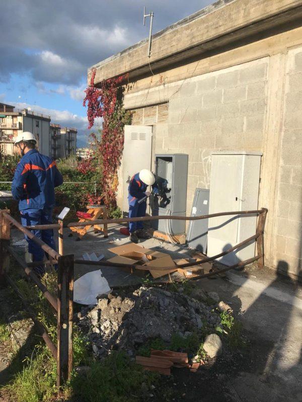 Giarre, riattivata dopo due mesi la pubblica illuminazione nel quartiere Jungo