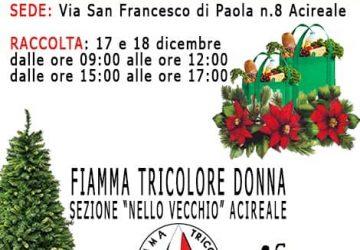 """Acireale, raccolta alimentare in favore della """"Casa Sollievo San Camillo"""""""