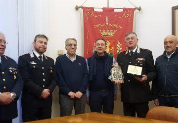 Randazzo, i saluti per l'avvicendamento del comandante della Stazione Carabinieri