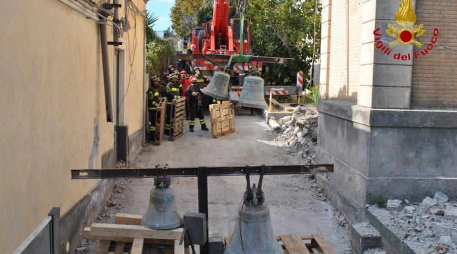 Terremoto, ad un mese dall'evento attivo il dispositivo dei Vigili del fuoco