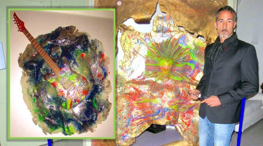 In mostra a Calatabiano la pittura spirituale e scientifica dell'artista quantico Tony Nicotra