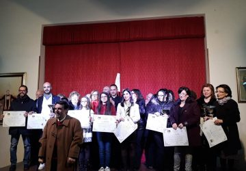 """Giarre, premiati i vincitori del Premio nazionale di Arte e Letteratura """"Manuel Foderà"""""""