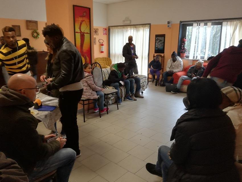 A Giarre la festa degli Sprar gestiti dalla cooperativa Iride