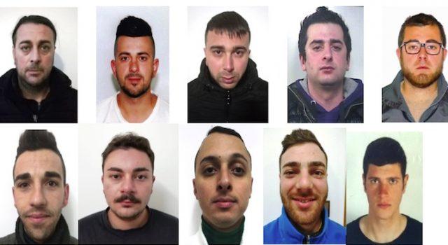 "Ramacca, operazione ""B&B"", 14 arresti. Neutralizzato traffico droga I NOMI FOTO VIDEO"