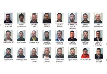 Catania, operazione Stella Cadente, 37 arresti. Decapitato il gruppo dei Nizza NOMI FOTO VIDEO