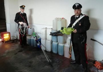 Biancavilla, rubano bidoni di carburante contrassegnati: denunciati tre pregiudicati