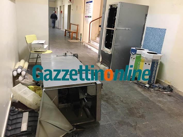 Giarre, furto negli uffici del Distretto Sanitario di viale Don Minzoni VIDEO