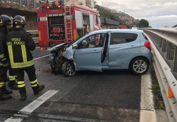 A18, grave incidente autonomo vicino Letojanni: un ferito
