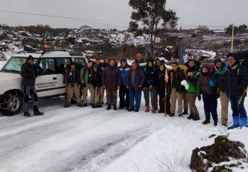 Montargano, gruppo di Scout sorpreso da una tormenta di neve: interviene la Protezione civile comunale di Mascali