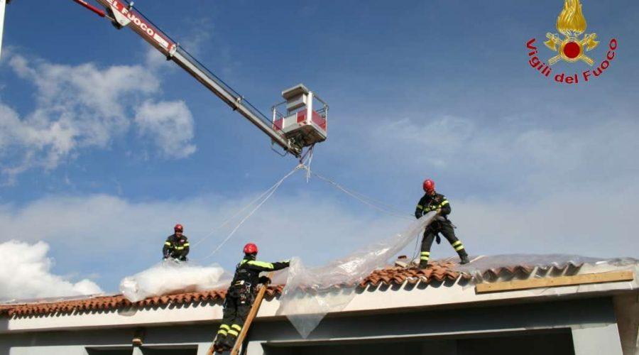 A Fleri e Pennisi, gli interventi post terremoto dei Vigili del fuoco