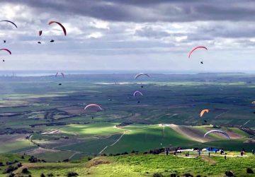 Volo libero in parapendio: successo per la Winter Cup Sicilia
