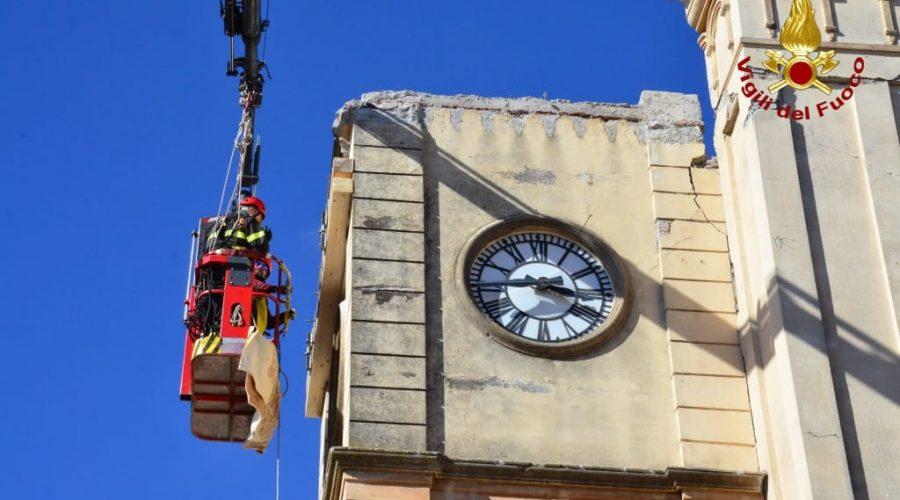 Terremoto, interventi manutentivi nella chiesa del Carmine di Pennisi