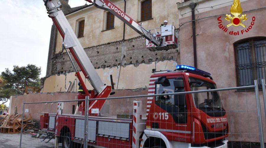 Terremoto, proseguono le opere di messa in sicurezza delle chiese a Pennisi