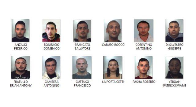 Scordia, operazione Narcos: smantellata organizzazione che gestiva traffico droga. 17 arresti NOMI FOTO VIDEO