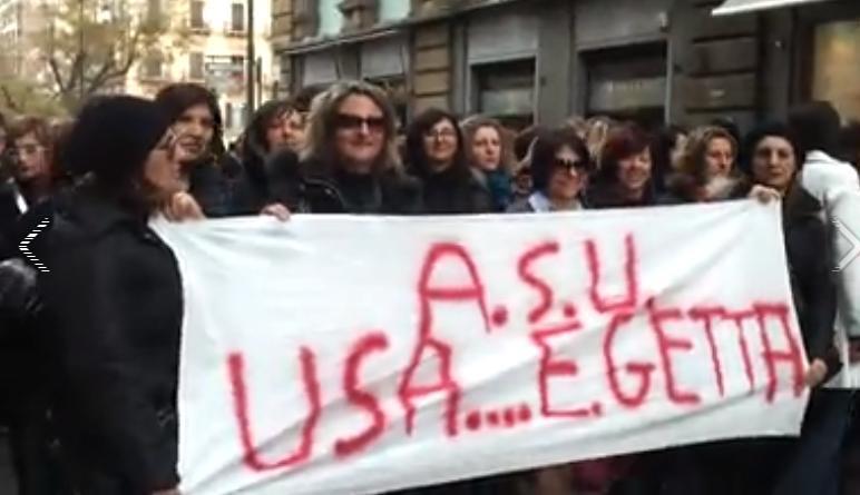 Da martedì a giovedì lo sciopero dei lavoratori Asu in forza nei Comuni