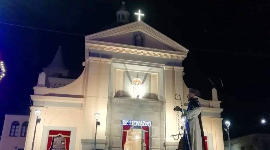 Mascali, cerimonia di dedicazione della chiesa di San Leonardo