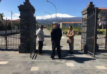 Mascali, si riqualifica il parco comunale di via Livatino