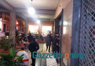 Giarre, controlli a tappeto dei carabinieri. Ispezioni in sale gioco, centri scommesse e snack bar