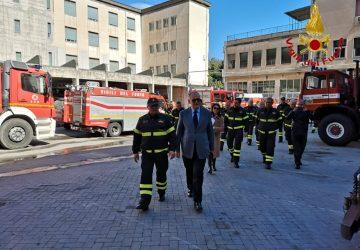 Catania, prefetto in visita istituzionale al Comando provinciale dei Vigili del fuoco