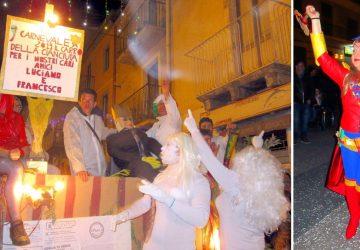 """Francavilla di Sicilia: un Carnevale """"social"""" tra supereroi, animali da zoo ed un velo di tristezza"""