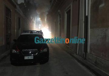 Riposto, prende a fuoco un'abitazione: muore asfissiato un anziano VIDEO-FOTO