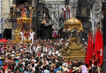 """""""Nei tuoi occhi"""", il documentario sulla festa di San Sebastiano ad Acireale sarà presentato domenica 31 marzo"""