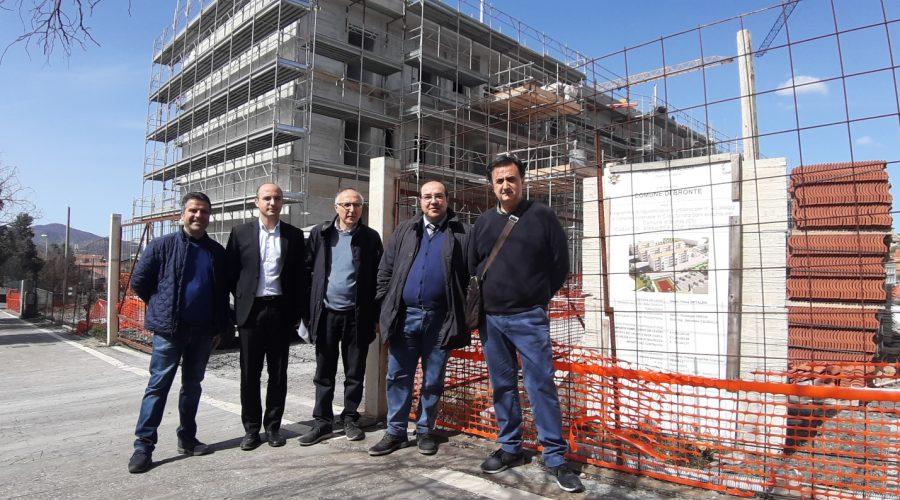 Bronte, entro dicembre i 60 alloggi a canone sostenibile saranno pronti