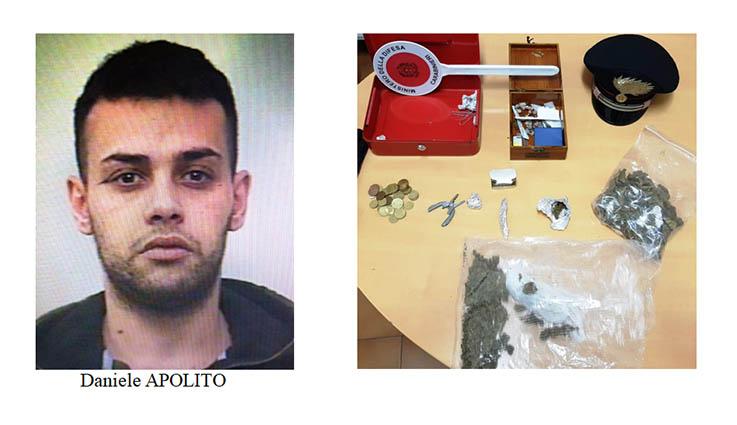 Paternò, spacciavano dai domiciliari: un fratello arrestato, l'altro denunciato