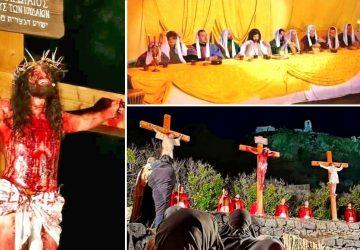"""Francavilla di Sicilia e Calatabiano """"palcoscenici"""" della Passione di Cristo"""