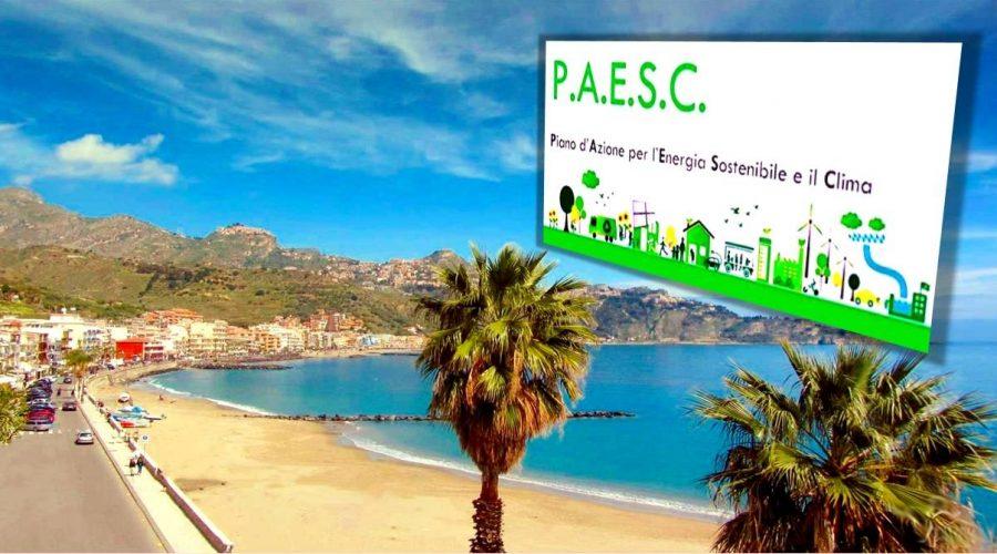 Giardini Naxos: contributo regionale di 16mila euro per l'energia sostenibile ed il clima