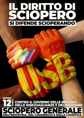Oggi giornata di lotta in difesa del diritto di sciopero. A Catania, nel pomeriggio, presidio in Prefettura