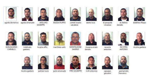 """Misterbianco, colpo dei carabinieri al clan dei """"Tuppi"""": 26 arresti NOMI FOTO VIDEO"""
