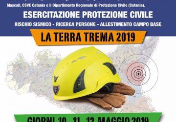 """Mascali, """"la Terra trema"""" esercitazione di protezione civile  dal 10 al 12 maggio"""