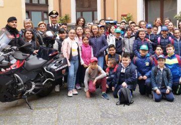 Cultura della legalità: gli alunni del Circolo Didattico di Aci Catena incontrano i Carabinieri del Comando Provinciale