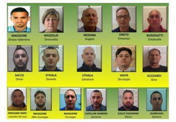 """Catania, operazione """"Stop and Go"""": stroncato vorticoso traffico di droga: 16 arresti NOMI FOTO"""