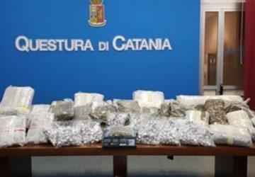Catania, trovati in possesso di 100 kg di droga: arrestati due fratelli