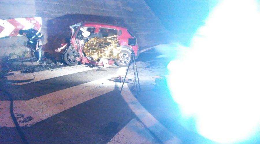 A18, tragico schianto mortale all'uscita dello svincolo di Taormina