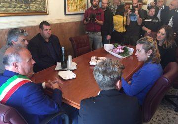 Calatabiano, visita del ministro alla Salute Giulia Grillo