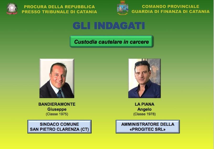 Corruzione e rifiuti a San Pietro Clarenza: arrestato anche il sindaco Bandieramonte I DETTAGLI