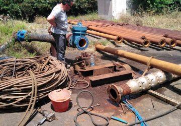 Giarre, rete idrica colabrodo, interventi nel pozzo di Macchia