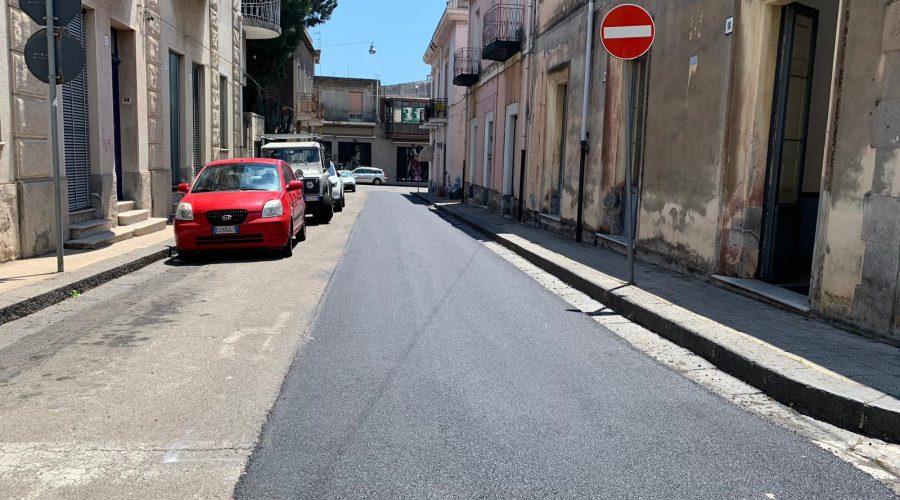 Mascali, al via la bitumazione delle strade