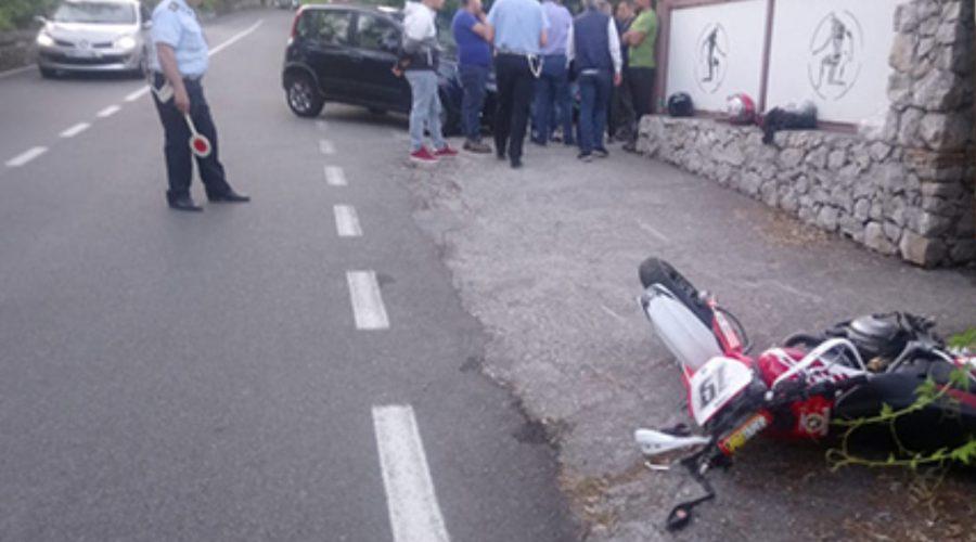 Tragedia sulla strada a Taormina, muore un centauro di Mascali