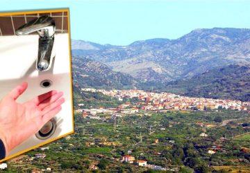 """Francavilla di Sicilia: un'intera popolazione """"a secco"""" a tempo indeterminato"""
