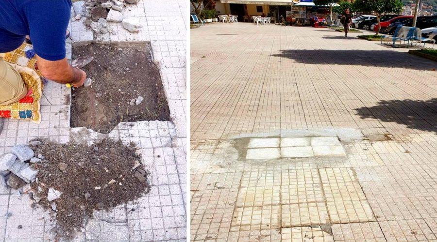 """Giardini Naxos: cittadini """"faidate"""" per mettere in sicurezza la centrale Piazza San Pancrazio"""